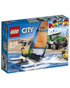 LEGO City 60149 Terrengbil med katamaran