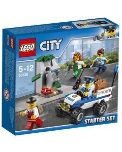 LEGO City 60136 Politi startsett