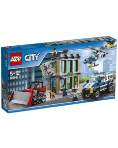 LEGO City 60140 Bulldoser-innbrudd