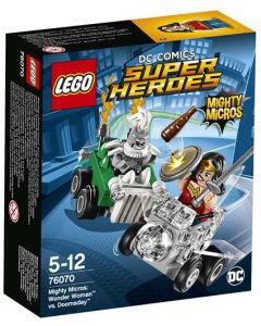 LEGO Super Heroes 76070 Mighty Micros: Wonder Woman mot Doomsda