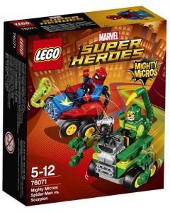 LEGO Super Heroes 76071 Mighty Micros: Spider-Man mot Scorpion