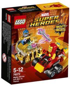LEGO Super Heroes 76072 Mighty Micros: Iron Man mot Thanos