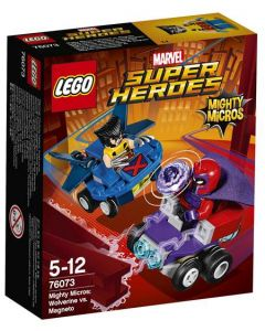 LEGO Super Heroes 76073 Mighty Micros: Wolverine mot Magneto