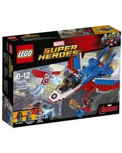 LEGO Super Heroes 76076 Captain Americas jagerjakt