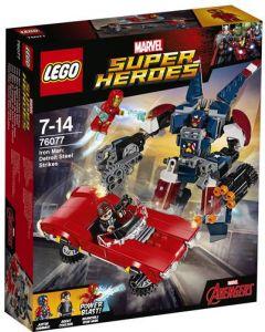 LEGO Super Heroes 76077 Iron Man: Detroit Steel angriper