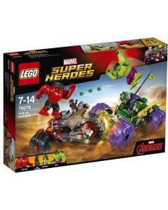 LEGO Super Heroes 76078 Hulk mot Red Hulk