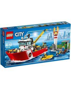 LEGO City 60109 Brannbåt