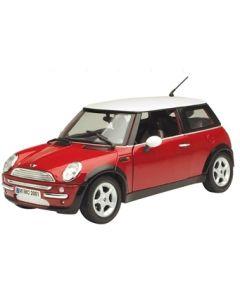 Motormax Mini Cooper - 1:18  - rød
