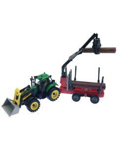 Traktor med tilhenger