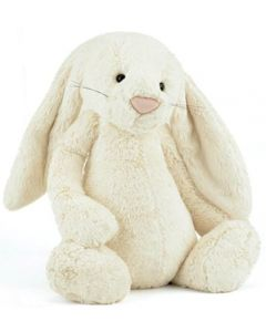 Jellycat bashful cream kanin plysjbamse - 31 cm