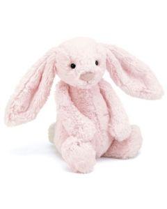 Jellycat bashful rosa kanin plysjbamse - 31 cm