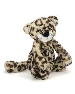 Jellycat bashful leopard plysjbamse - 31 cm