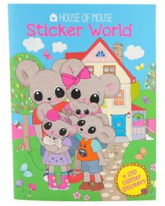 House of Mouse stickershefte