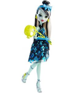 Monster High Welcome To Monster High Dance The Fright Away dukke - Frankie Stein