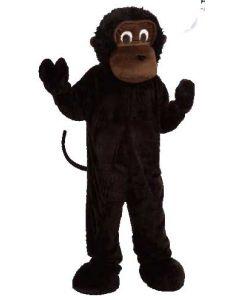 Gorillakostyme voksen (one size)