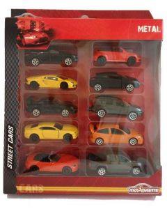 Majorette Square Pack 10 Cars