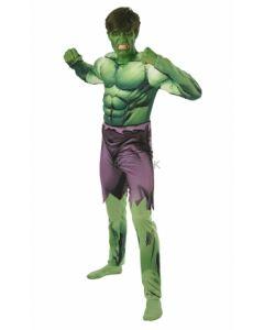 Avengers Hulk kostyme deluxe (one size)