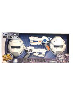 Space Wars 2 pistoler og 2 masker