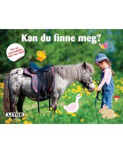 Kan du finne meg? - pekebok hest