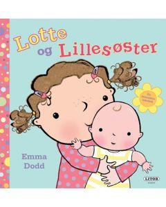 Lotte og Lillesøster lekebok - interaktiv ta og følebok
