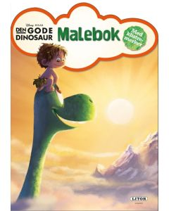 Disney the Good Dinosaur malebok med klistremerker