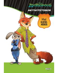 Disney Zootropolis aktivitetsbok med klistremerker
