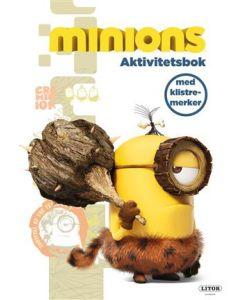 Minions aktivitetsbok med klistremerker