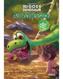 Disney the Good Dinosaur aktivitetsbok med klistremerker