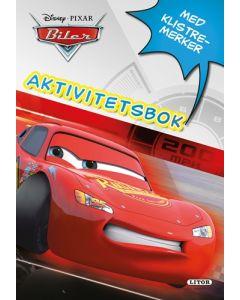 Disney Cars - aktivitetsbok med klistremerker