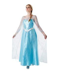 Disney Frozen Elsa kostyme voksen delux M