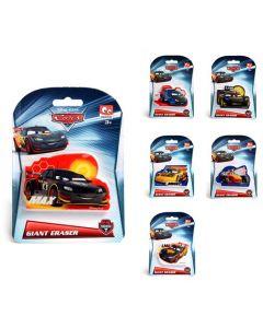 Disney Cars stort viskelær - assortert. pr. stk
