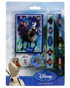 Disney Frozen skrivesett 5 deler