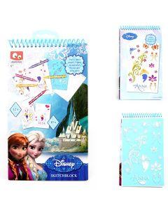 Disney Frozen notat og idebok