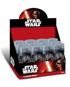 Star Wars fargeblyanter med blyantspisser - pr pakke