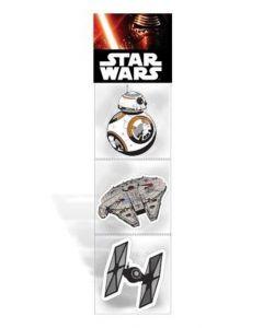 Star Wars viskelær 3-pakning