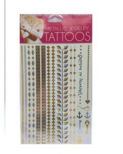 Metallic tatovering for barn