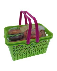 Piknikkurv med mat -  28 deler