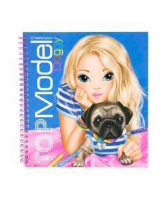 TOPModel malebok create your doggy