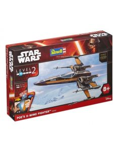 Revell Easy Kit Star Wars Poe´s X-Wing Fighter 1:50