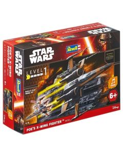 Revell Built and Play Star Wars Poe´s X-Wing Fighter 1:78