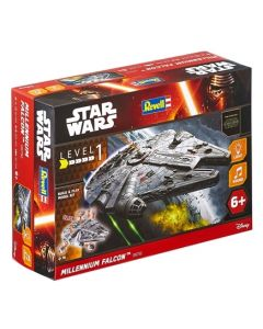 Revell Built and Play Star Wars Millenium Falcon 1:164