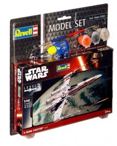 Revell Modell Set Star Wars X-wing Fighter 1:112
