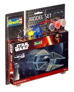 Revell Modell Set Star Wars TIE Interceptor 1:90