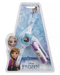 Disney Frozen digitalt ur og lykt sett