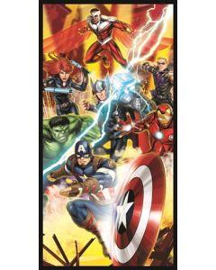 Avengers håndkle 140 x 70 cm bomull