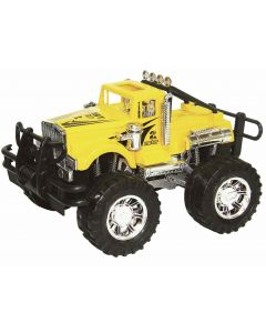 Crusher lekebil 4x4 - friksjonsmotor - 24 cm