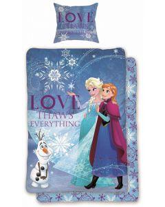 Disney Frozen sengesett - 140x200 50x73cm