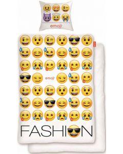 Emoji sengesett - 140x200 og 50x70cm