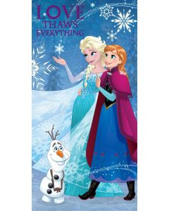 Disney Frozen håndkle - 70x140cm