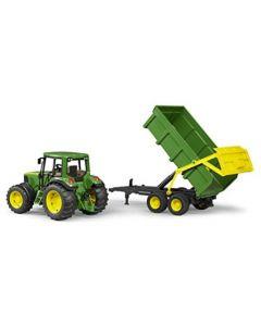 Bruder John Deere 6920 traktor med tilhenger - 02058